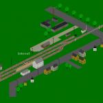 Koncové nádraží v Dobrouči